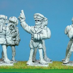28mm ww2 Russian tank crews .