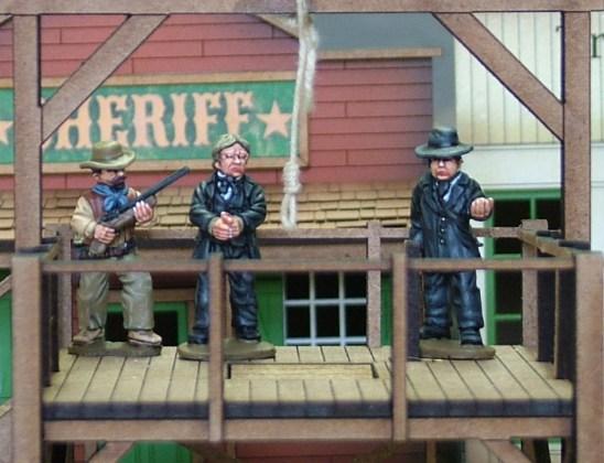 28mm wild west Hangman Set II