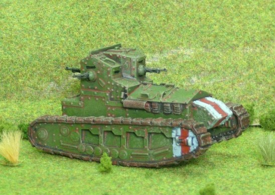 1/48 28mm ww1 british Whippet light tank.