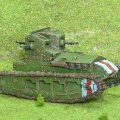 1/48 28mm ww1 british Whippet light tank.