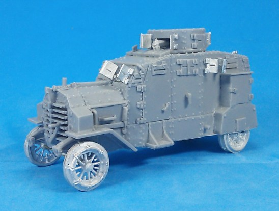 1/48 28mm ww1 Erhhart E-V/4 Armoured Car