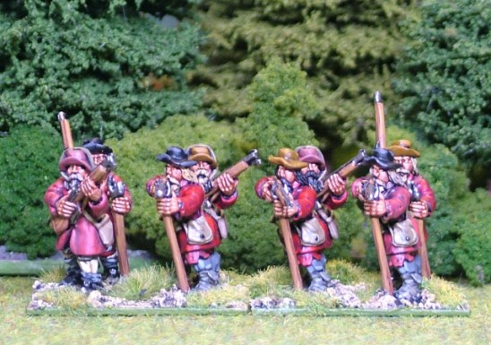 28mm thirtye years Musketeers