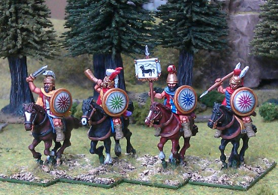 Tarantine light cavalry command