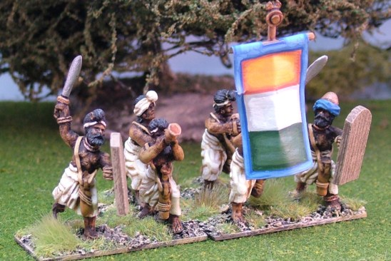 28mm classical ancient indian foot command