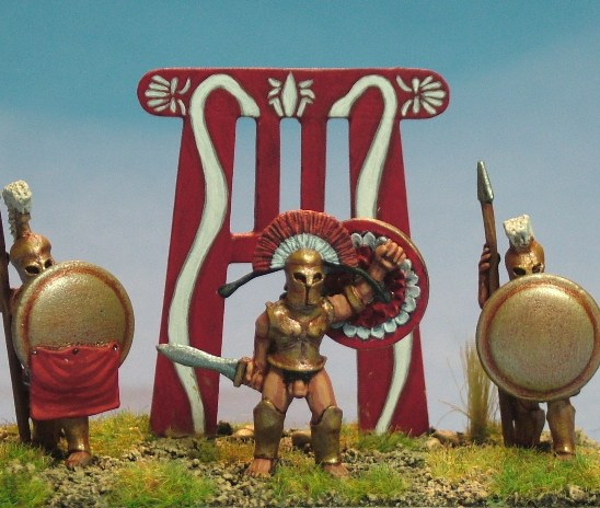 28mm ancient greek spartan