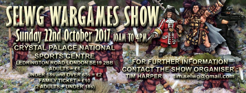 SELWG Wargames show