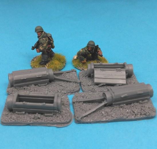 28mm german fallschirmjager paratroop equipment container