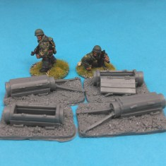 28mm german fallschirmjager paratroop equipment container