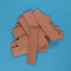 mdf bases 20 x 80mm