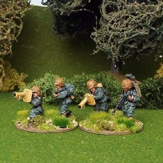 28mm ww2 german panzerschreck team