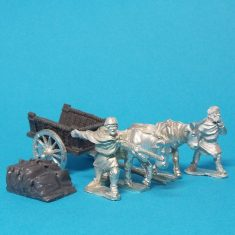 28mm Dark Age whicker cart
