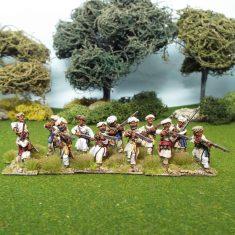 28mm seven years war indian native irregulars