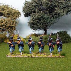 Iron Brigade at right shoulder shift
