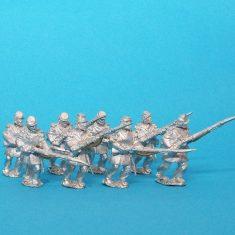 ACW infantry wearing frock coat and kepi.