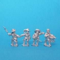 28mm Thirty years war infantry command