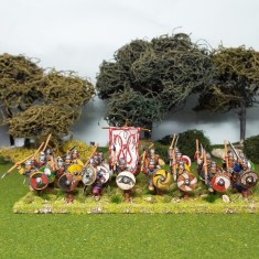 28mm early saxon gedricht hearthguard