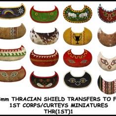 Thracian shield transfers