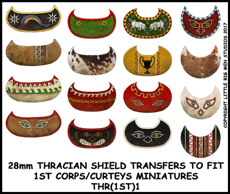 Thracian shield transfers