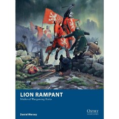 Lion Rampant figures and rules.