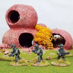 25mm colonial roopers starship marines