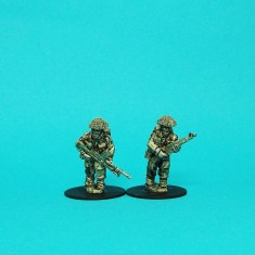 28mm ww2 british bren gun team