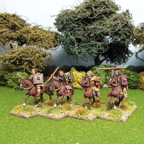 28mm pictish light cavalry