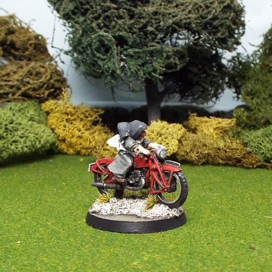 28mm nun on motorbike