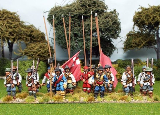 28mm english civil war miniatures