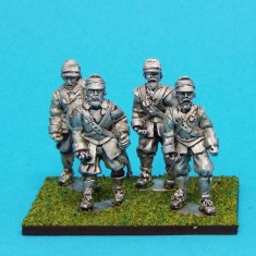 28mm english civil war Armoured Pikemen Marching Montero Cap