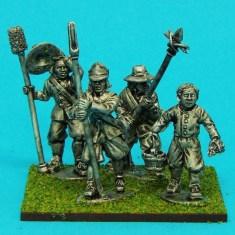 28mm english civil war artillery crew