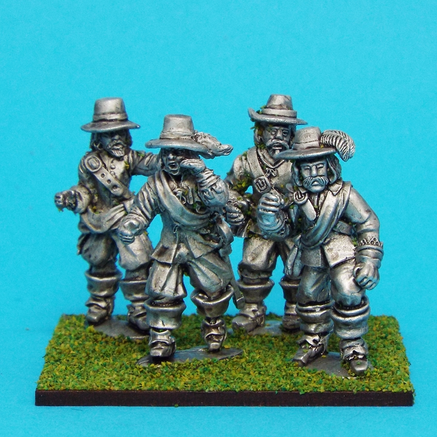 28mm english civil war officers