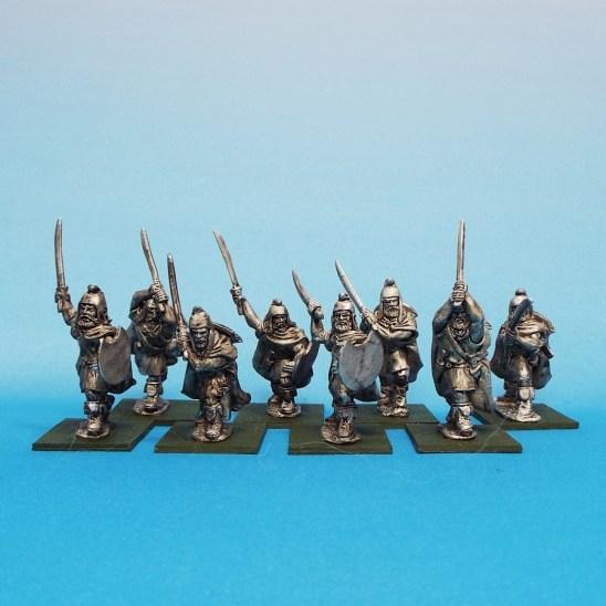 thracian warriors with rhomphia