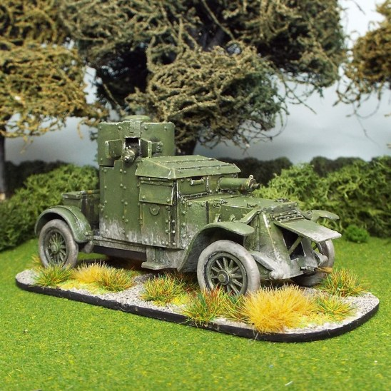 28mm ww1 austin armoured car