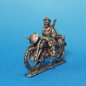 28mm ww2 British reconnaissance motorcycle.