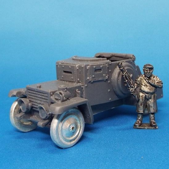 28mm improvised armoured car