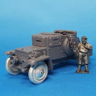 28mm improvised armoured car