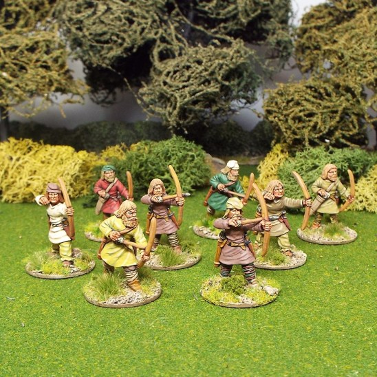 28mm saga early saxon levy archers