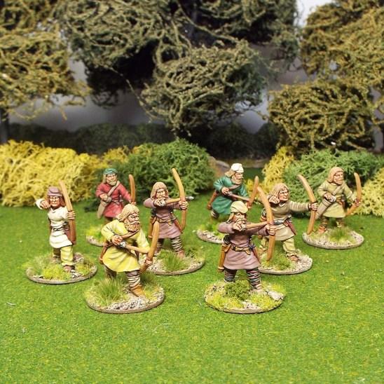 28mm saga early saxon levy archers