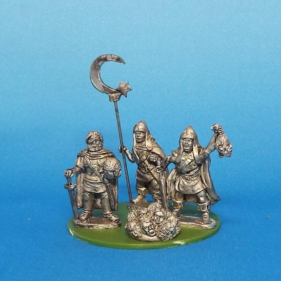 Thracian Chieftan and Banner Bearer.