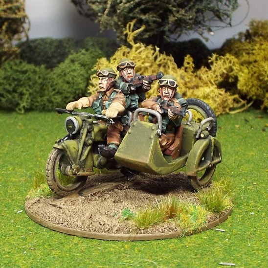 28mm british reconnassance motor cycle