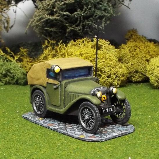 Austin 7 radio car