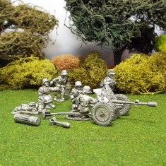 German 1/48 scale Pak36 37mm Anti Tank Gun with Stielgranate.
