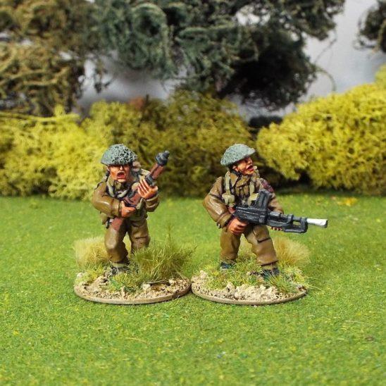 28mm WW2 British WW2GB2ba Bren Gun Team B