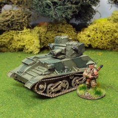 1/48 WW2 British Vickers Light Tank MKVIB