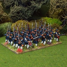 28mm american civil war marines marching