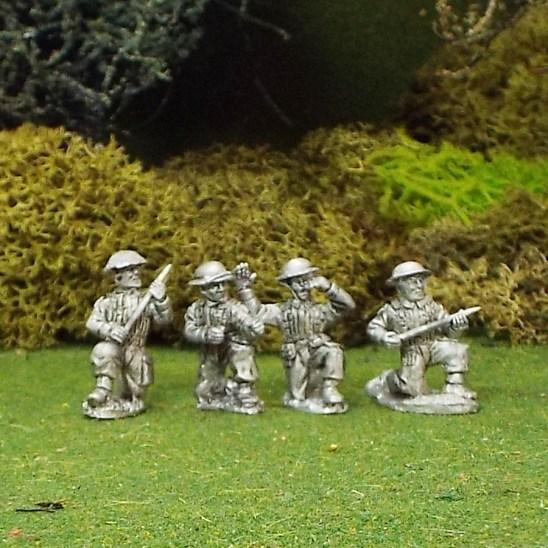 British 6ld Anti Tank Gun Crew