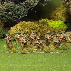 28mm BEF Riflemen.