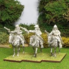 English Civil War Cavalry Wearing Montero Cap