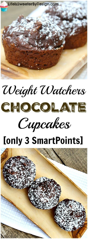 Weight Watchers chocolate cupackes