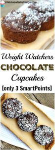 Weight Watchers chocolate cupackes